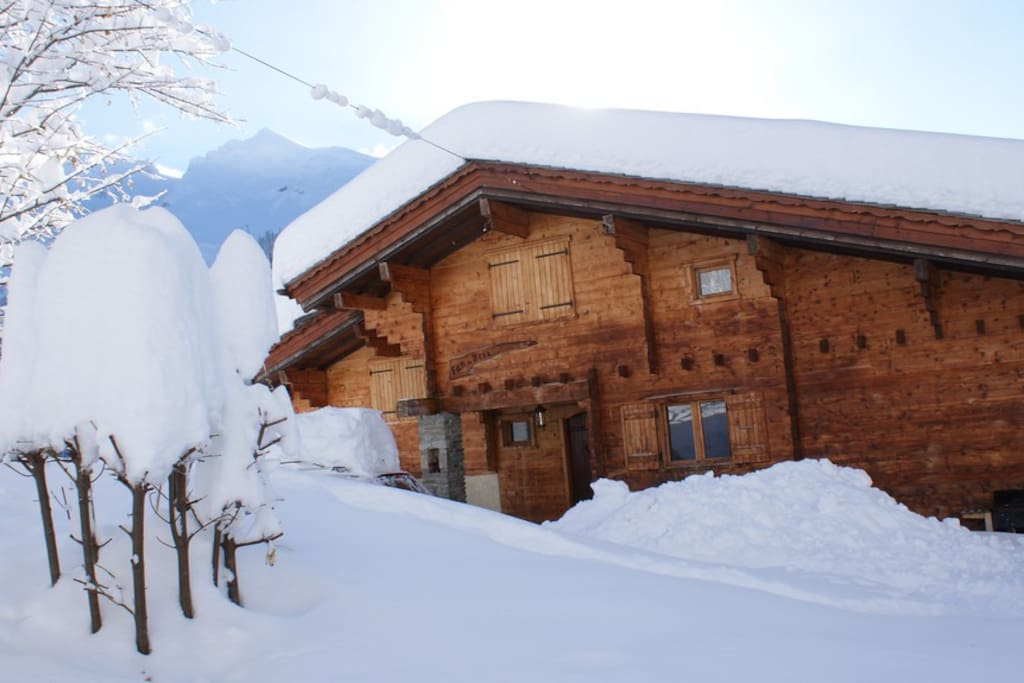 Winter at the chalet