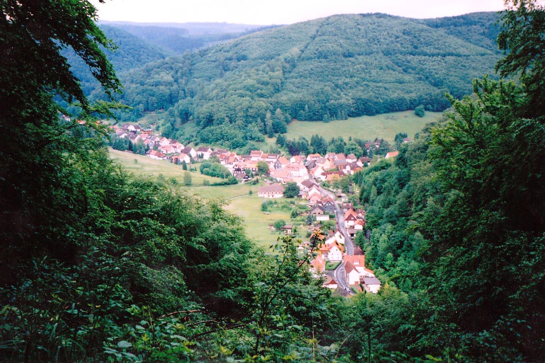 Lonau ein kleines Harzdorf ohne Durchgangsverkehr - mitten im Nationalpark Harz