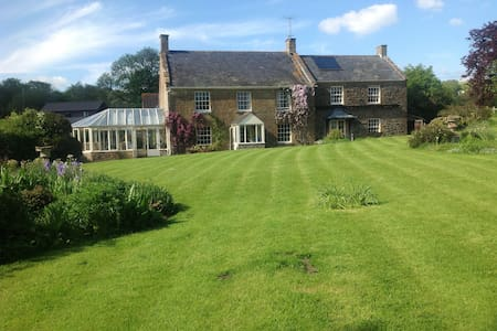 Dorset house with tennis court - Beaminster - Rumah