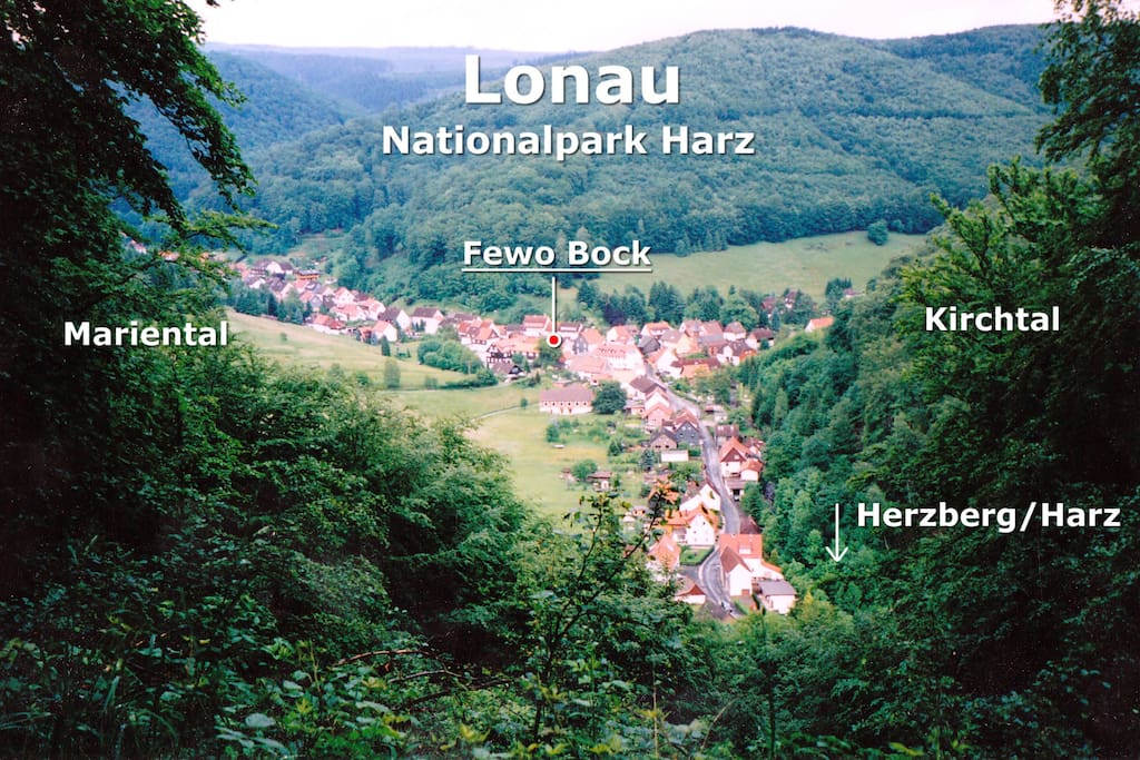 Die Anfahrt von Herzberg zur Ferienwohnung
