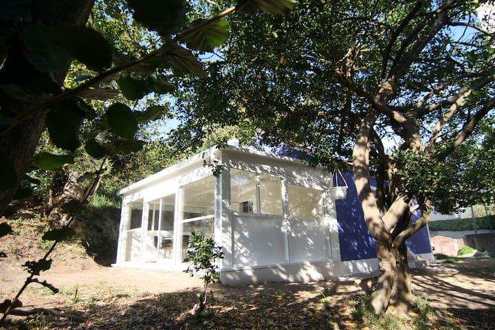 Casa da Castaña: en Bouzas, y a 4 min de la playa.