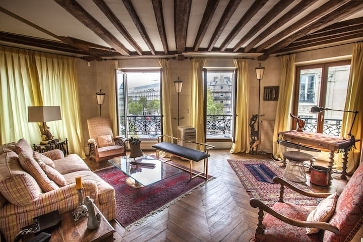 "Luxurious 90sqm flat ""Saint-Germain' best view"""