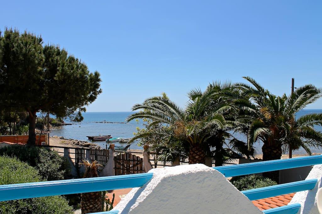 terrazza fronte mare