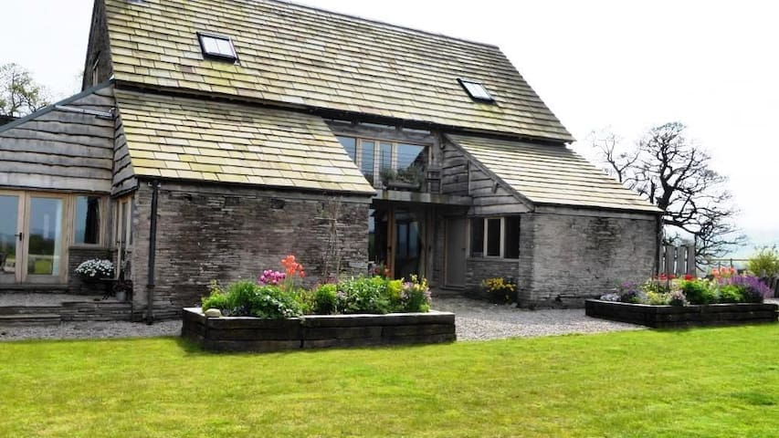 Stylish barn conversion nr HayOnWye - Herefordshire - Huis