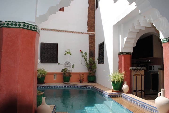 Riad Dar Palmyra ( chambre double ) - Marrakesh - Bed & Breakfast