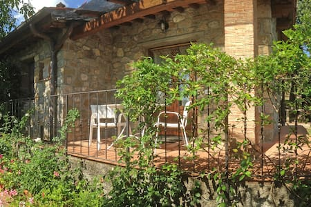 La Loggia, stone cottage for 2, with pool - Cavriglia - Haus