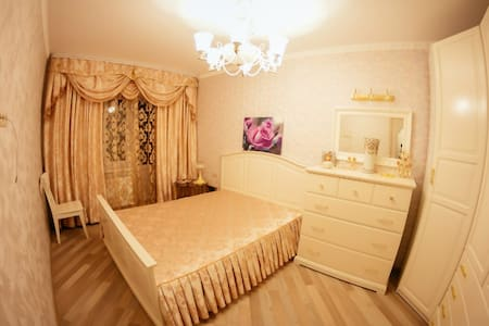 One bed room in private apartment in historical city of Belarus, 5 min walk to supermarkets and public transportation, 10 minutes to city center. 15 minutes to city train station.