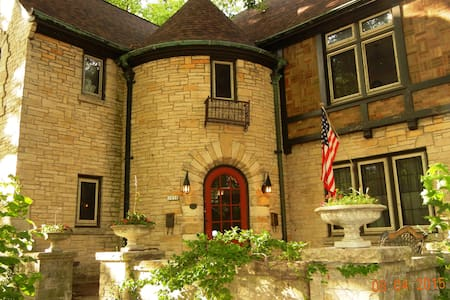 Lake Michigan Tudor - Townhouse