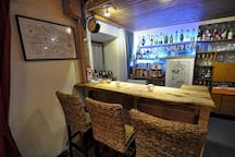 Honesty Bar, caters for most 'tipples'