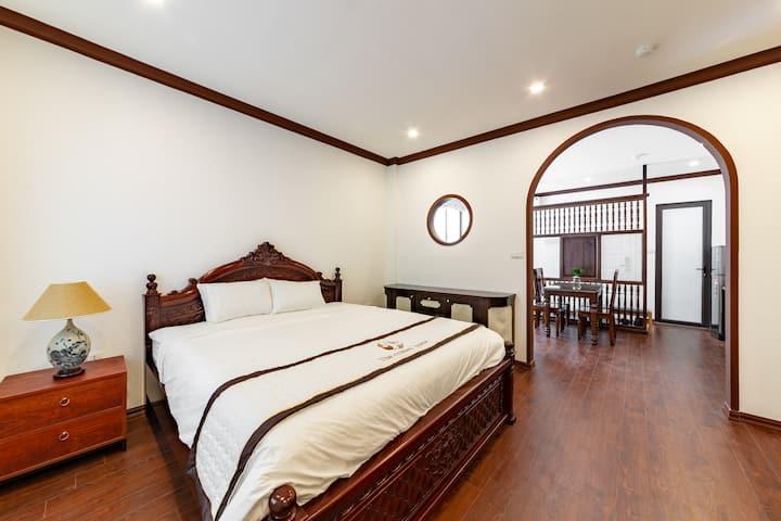 ⭐Indochine Room-Luxury Serviced Apartment/Balcony