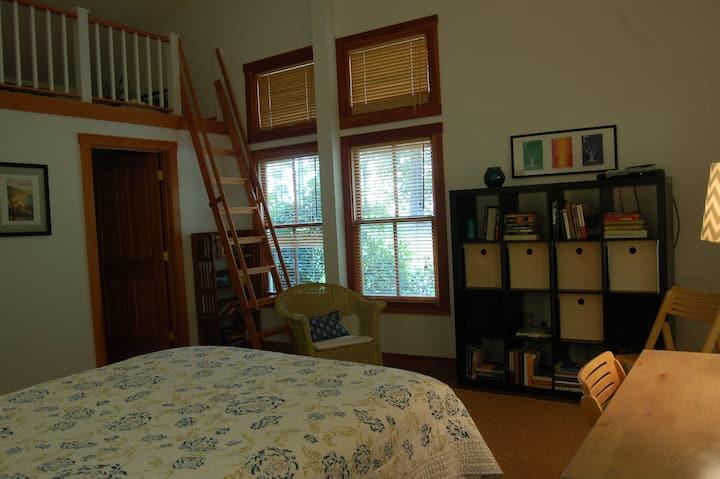 Studio Apartment with Loft