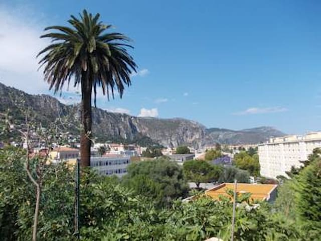 Double room with queen size bed -terrace/ sea view - Beaulieu-sur-Mer - Adosado