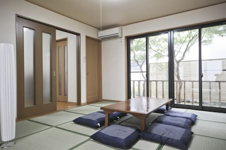 83sq. 3BDFamily House 5 min ride from JR Shinjuku - Hus