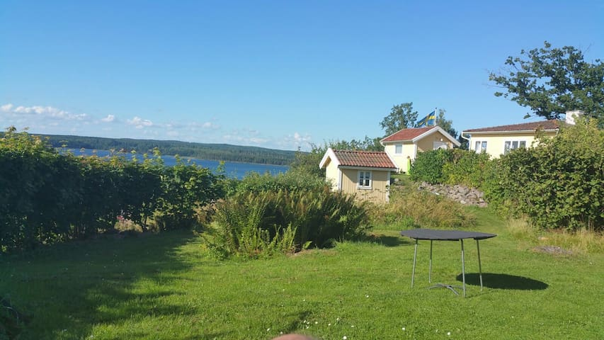 Lovely summer house with lake view - Fagersanna - Hus