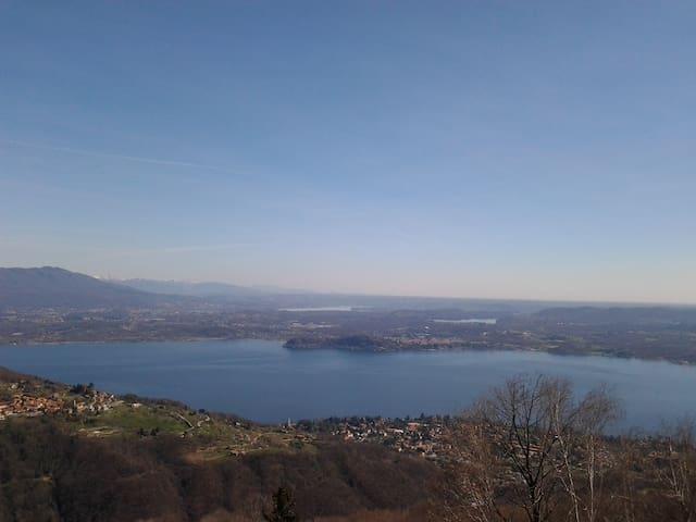 spettacolare vista lago - San Salvatore - Apartment