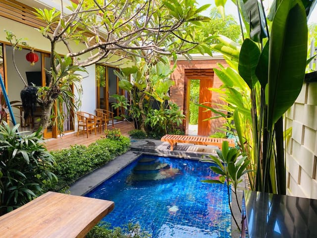 Beautiful house in the real Bali