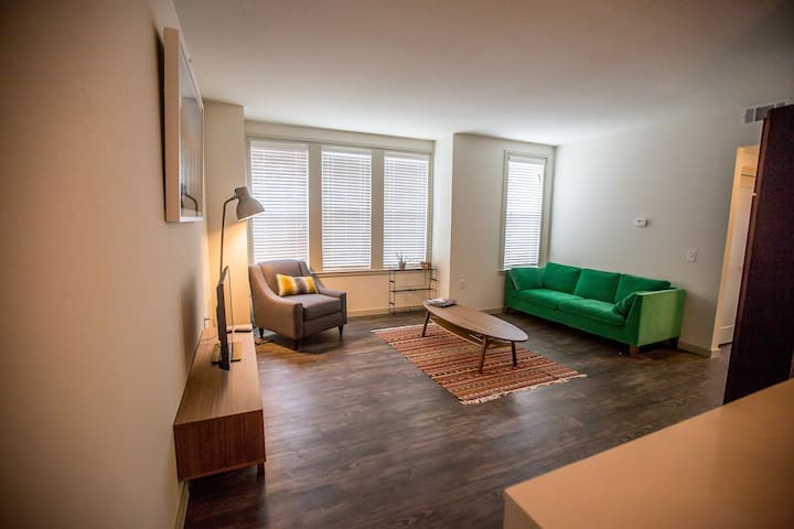 Beautiful downtown apartment - Bentonville - Daire