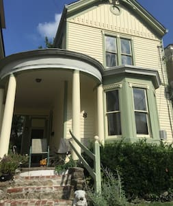 10 min to downtown, 1890s Victorian - Cincinnati - Appartement