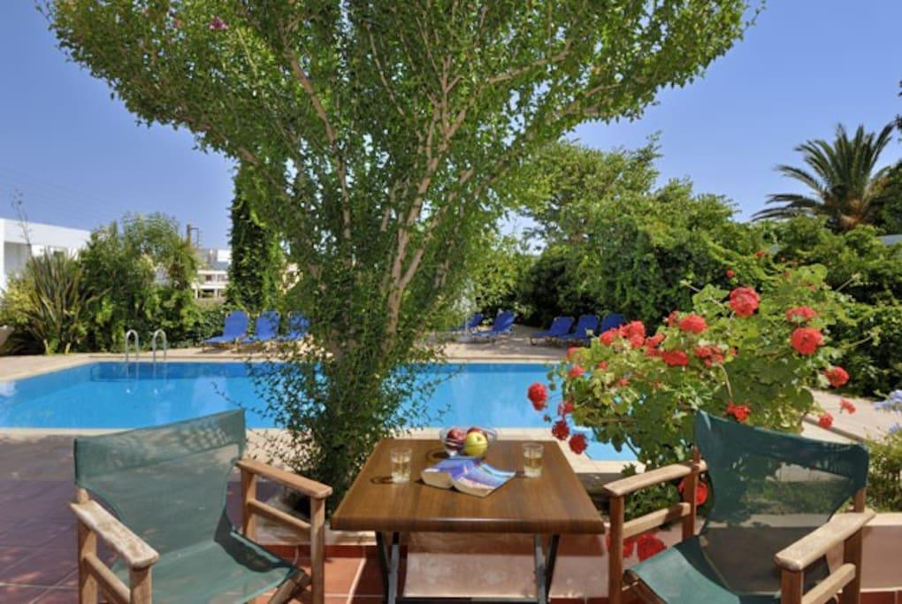 Villa Armonia (one bedroom 2-4 per)