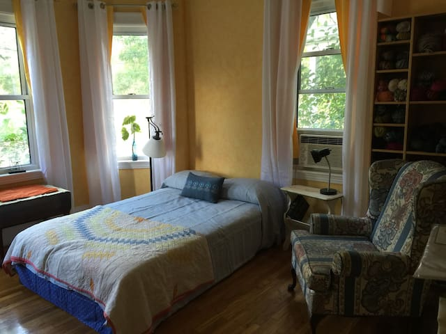 Sunny rm in Brookline/Boston w/parking - Brookline - Διαμέρισμα