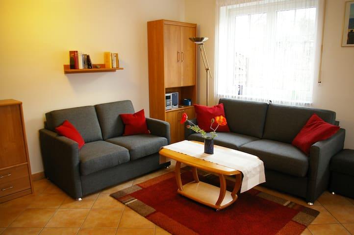 Zwei Raumwohnung mit Küchenzeile - Zinnowitz - Apartament
