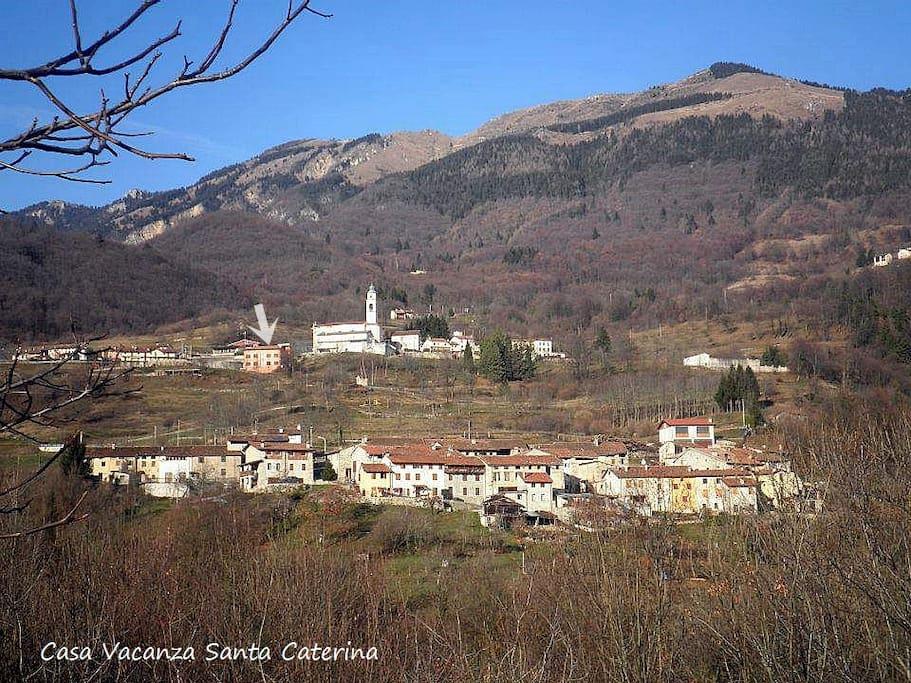 Santa Caterina e la Casa Vacanza