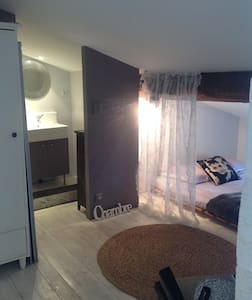 Grand espace privé pour 4 personnes - Libourne