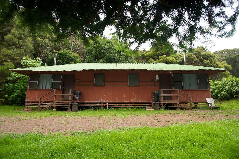 Exterior of Duplex Cabins