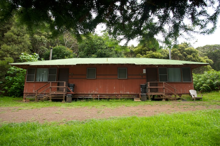 The Duplex Cabins at Kokee Park