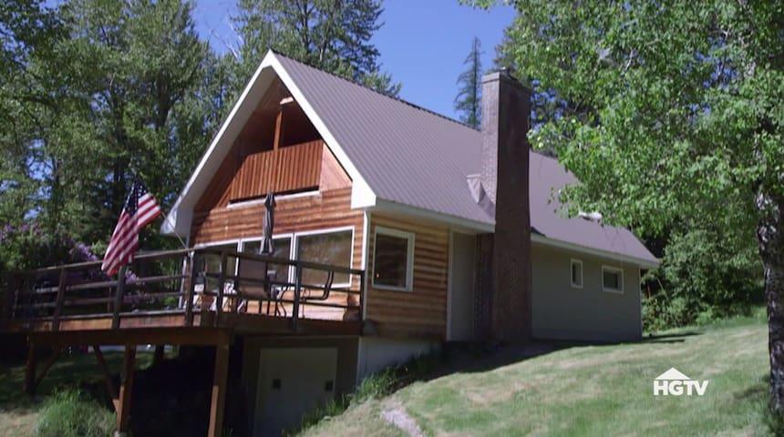 HGTV Featured - Whitefish Cottage!