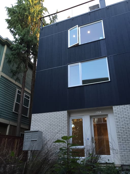 Our 3-story townhome