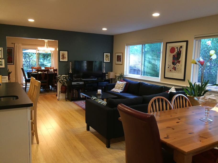Another view of the family room.