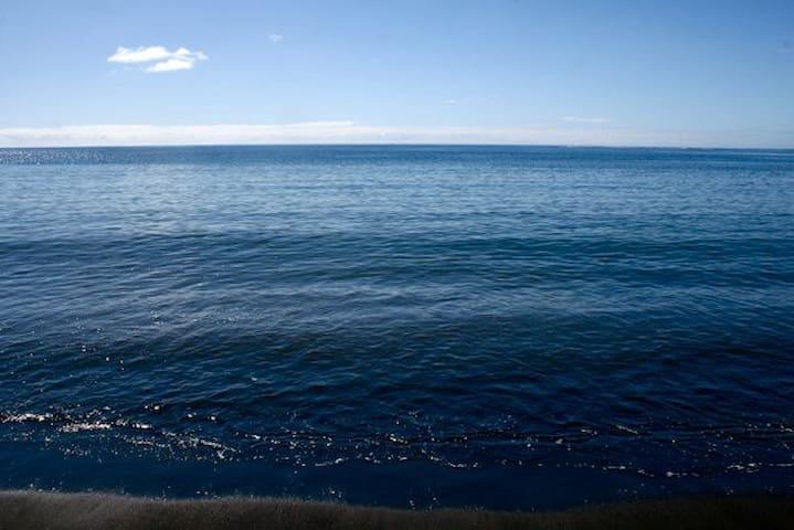 La plage à quelques mètres
