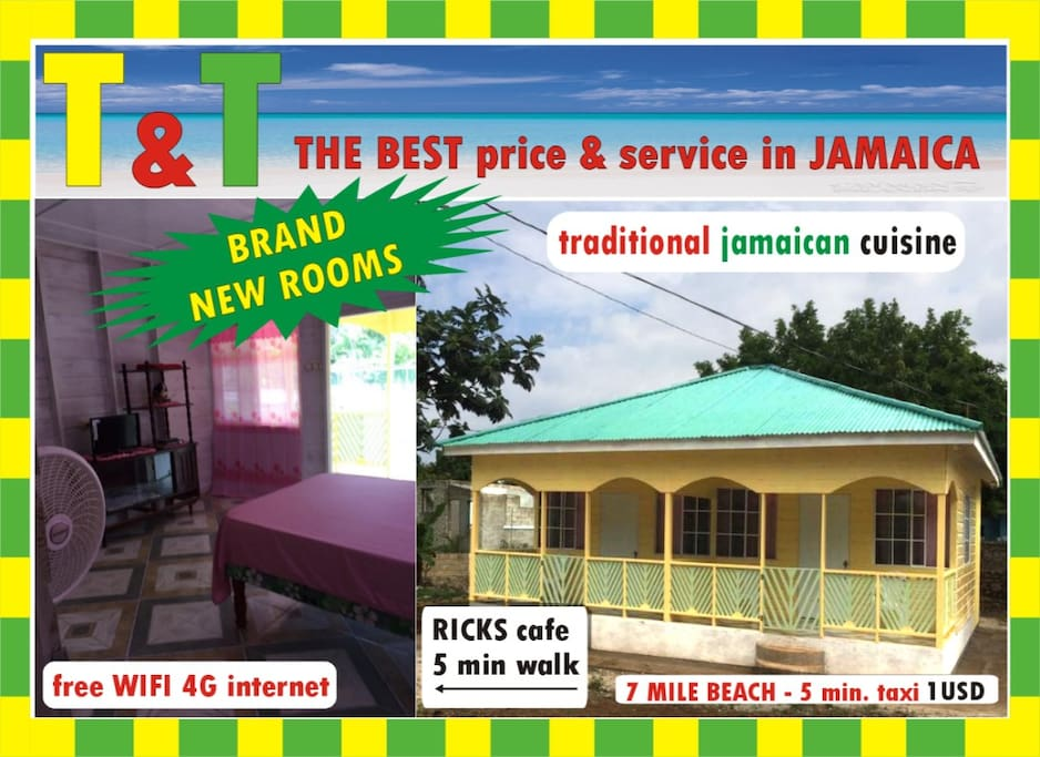 New Spacious Traditional Jamaican Apartment Apartments For Rent In Negril Westmoreland Parish