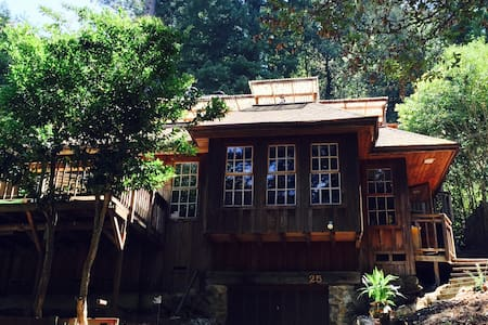 Magical Mount Hermon Cabin! - Felton