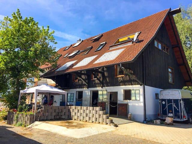 Ferienwohnung in der ausgebauten Scheune, 75 m2