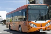 Free CAT bus to explore many places aroud Fremantle. Your stop is # 14 on Marine Terrace.