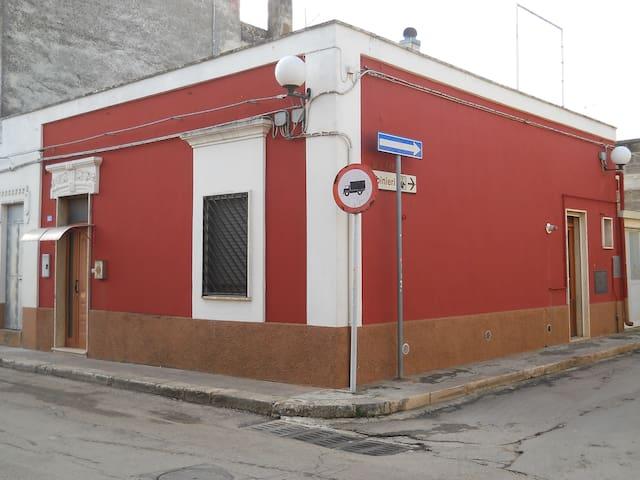 casa stella  -  la maison rouge - San Michele Salentino - Apartmen