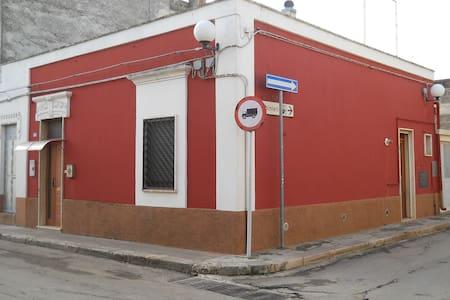 casa stella  -  la maison rouge - San Michele Salentino