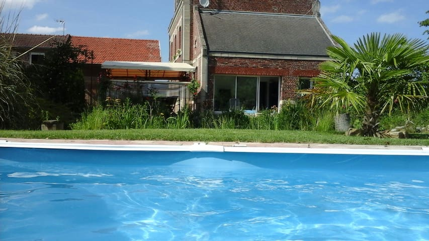 bed and breakfast les 3 tilleuls - Roye - Aamiaismajoitus