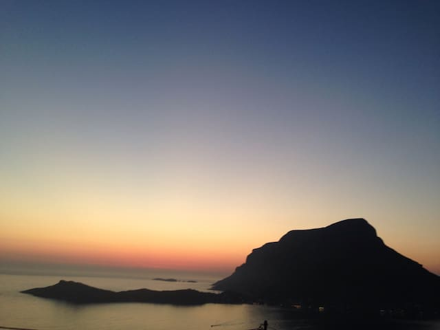 Kalymnos Sunset Villa for Climbing - Myrtees - Hus