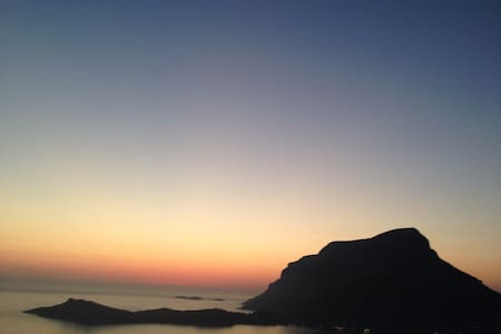 Kalymnos Sunset Villa for Climbing - Myrtees