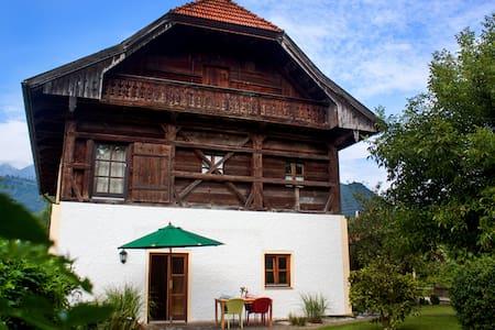 Haus am Salinenweg Wohnung EG - Grassau - Apartemen