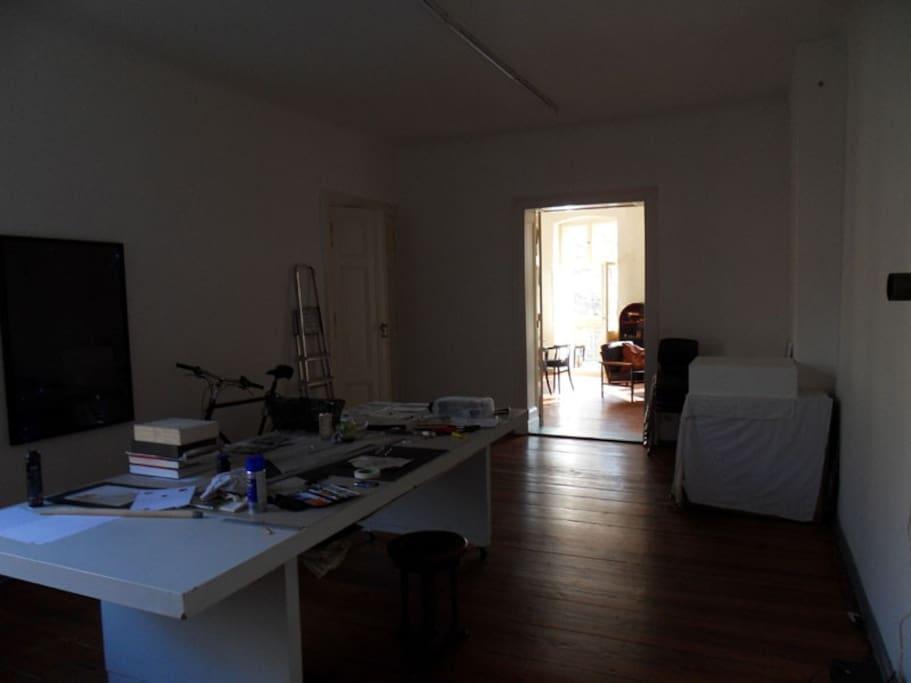 art studio for creating