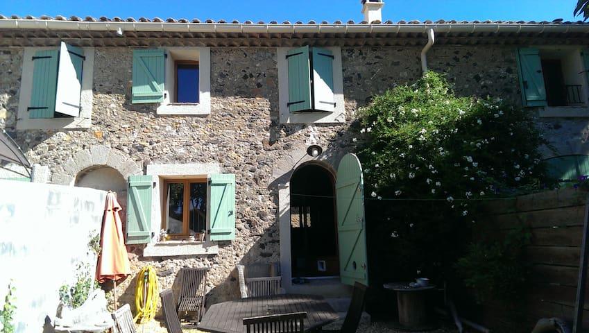 Stone house - Cazouls-d'Hérault - Casa