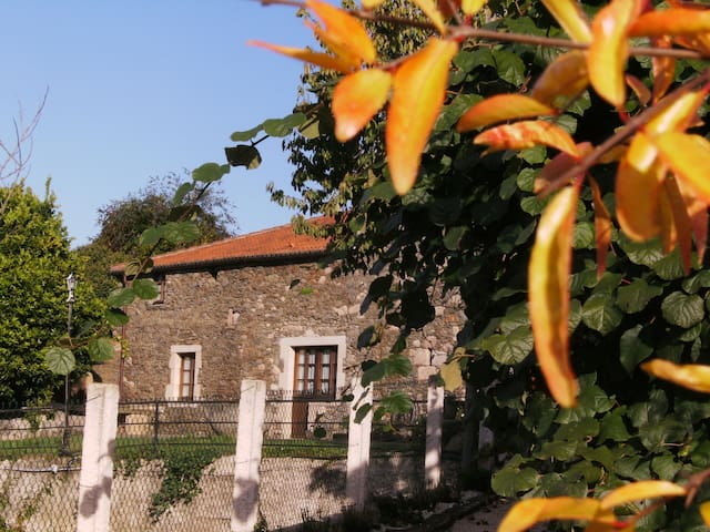 Casa rustica con encanto - Coirós - Huis