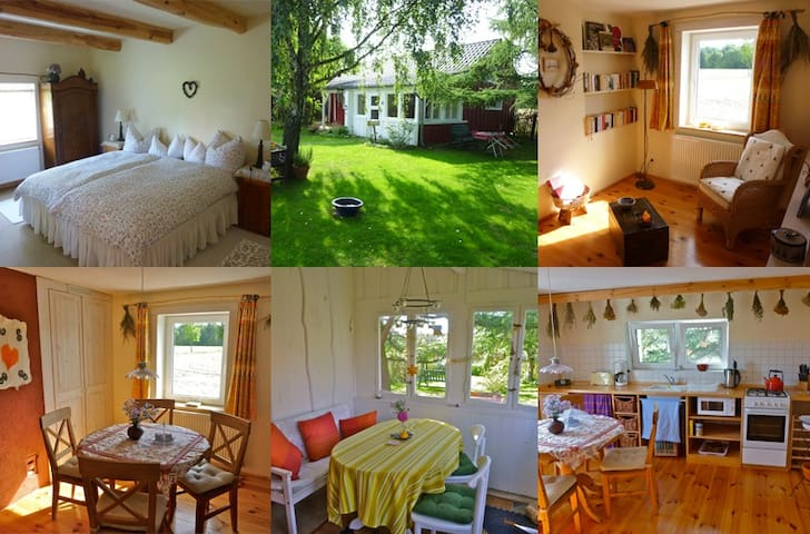 Libellenhof, Ferienhaus für Zwei im Spreewald - Alt Zauche-Wußwerk - Rumah