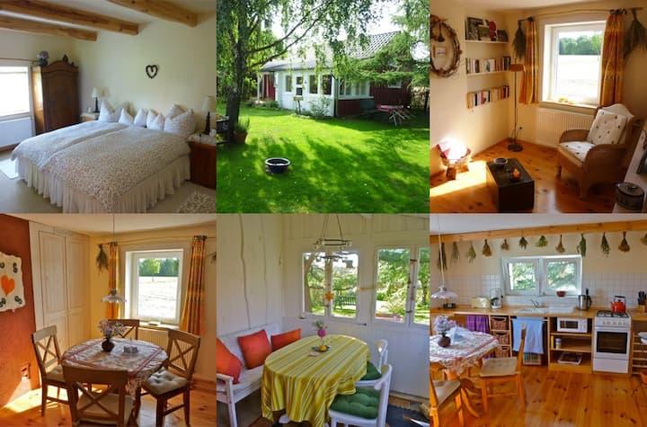 Libellenhof, Ferienhaus für Zwei im Spreewald