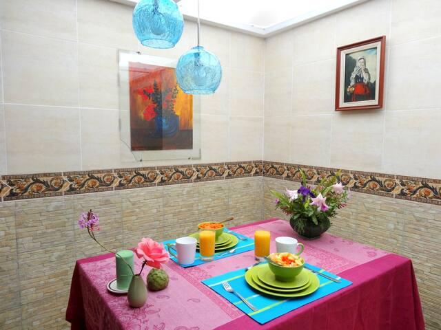 Habitación matrimonial - Urcuquí - Szoba reggelivel