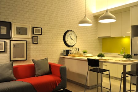 Contemporary 1-Bedroom #2, Mont Kiara - Kuala Lumpur - Leilighet